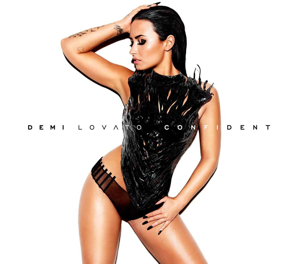 Confident  album cover (Hollywood Records/Island Records).