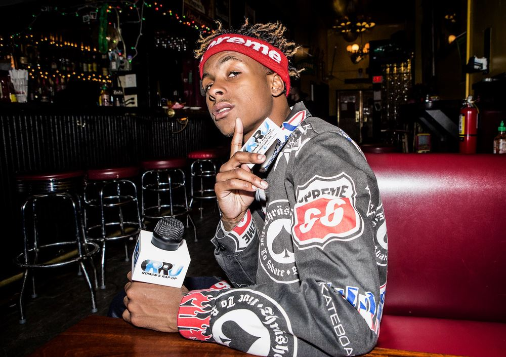 Rich The Kid poses for Roman's Rap-Up on January 25th, 2016 (Gibson Dintersmith/Roman's Rap-Up).