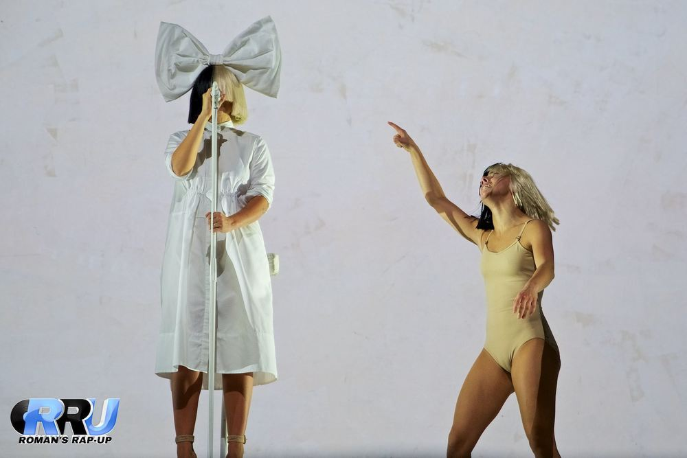 Sia closes out the first day of Boston Calling Music Festival on May 27th, 2016 (Benjamin Esakof/Roman's Rap-Up).