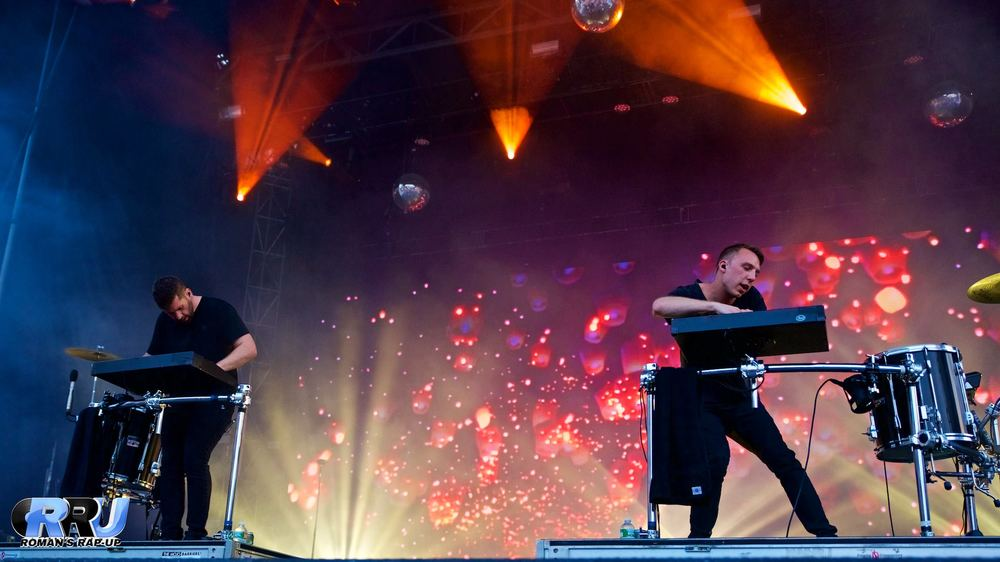 Odesza performs on the second day of Boston Calling Music Festival on May 28th, 2016 (Benjamin Esakof/Roman's Rap-Up).