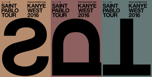 KANYE WEST ANNOUNCES THE SAINT PABLO TOUR (PRNewsFoto/Live Nation Entertainment)