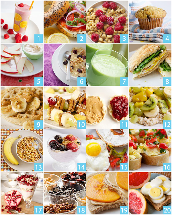 20 Health Breakfast Ideas