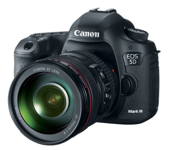Canon 5D MKIII Available On Amazon