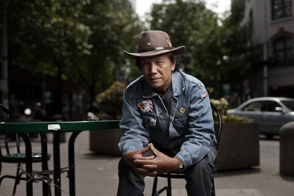 Pong Hoang moved from Vietnam to America in 1992, and retired as a truck driver in 2005.