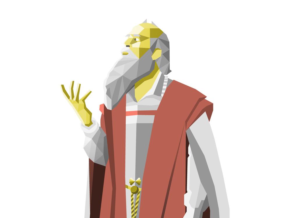 Leonardo DaVinci Illustration