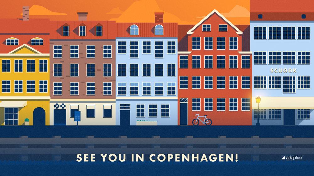 City Illustration: Copenhagen
