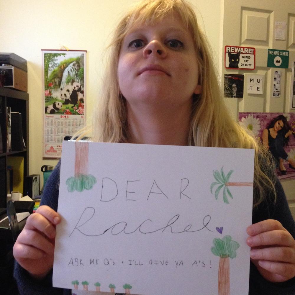 Dear Rachel: a comedy webseries