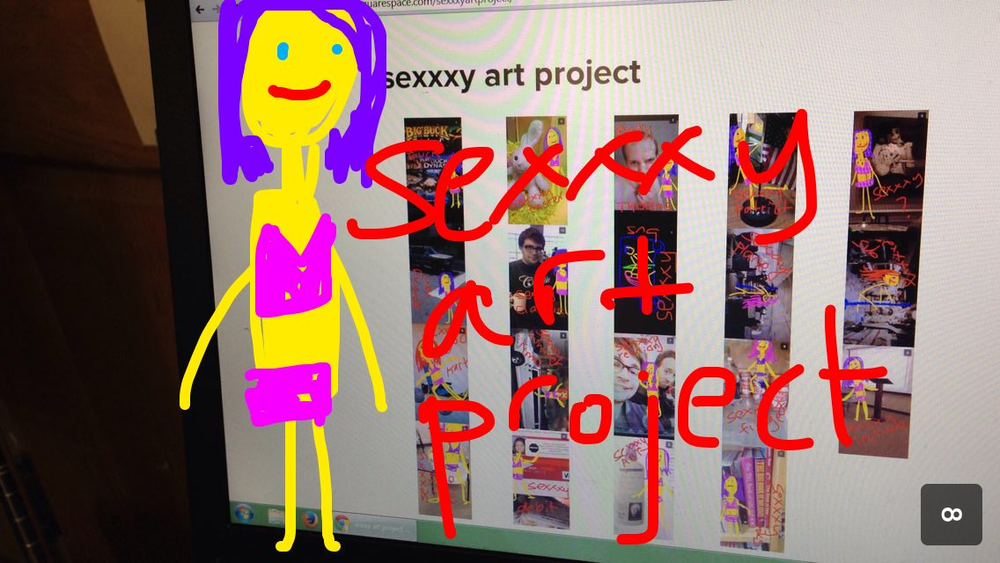 Sexxxy Art Project by Kathryn Leslie