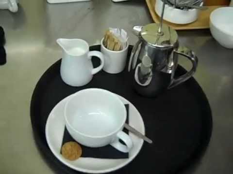 In room tea service allows guests to prepare and enjoy tea in the comfort of their hotel room