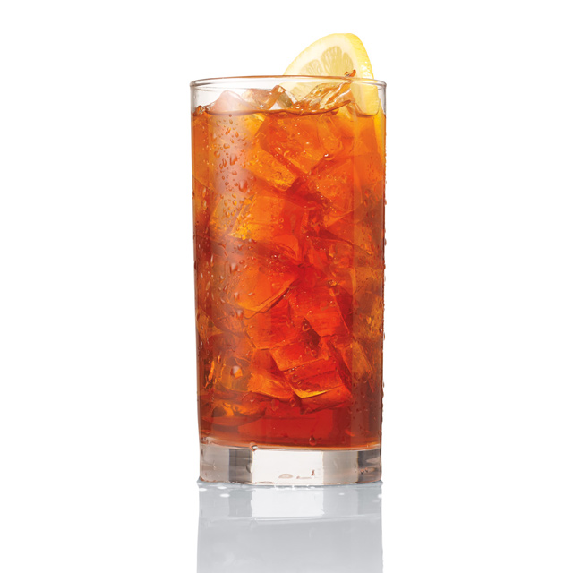 Traditional Iced Tea in the USA - colorful yet lifeless in terms of taste, aroma, and body.