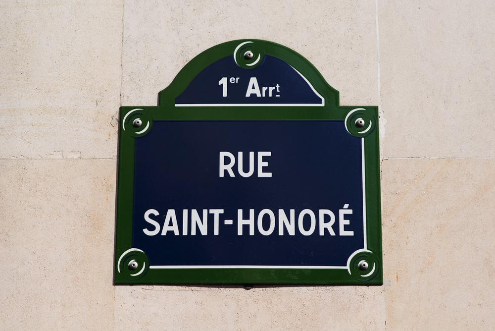 Rue Sait Honoré