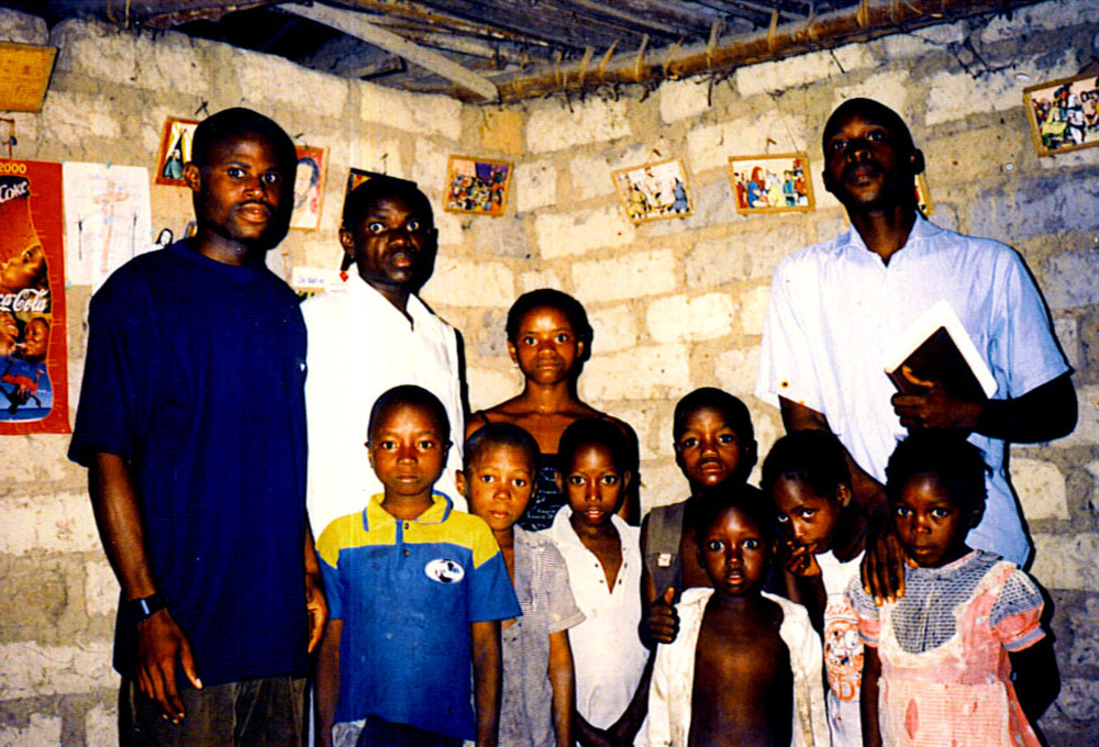 Eugene children's in Ministry Guinea