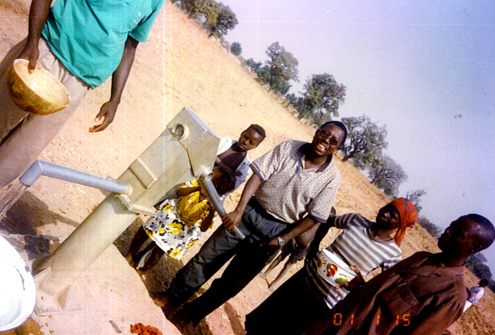 Uncle Chris and Eric in ministry in Mali
