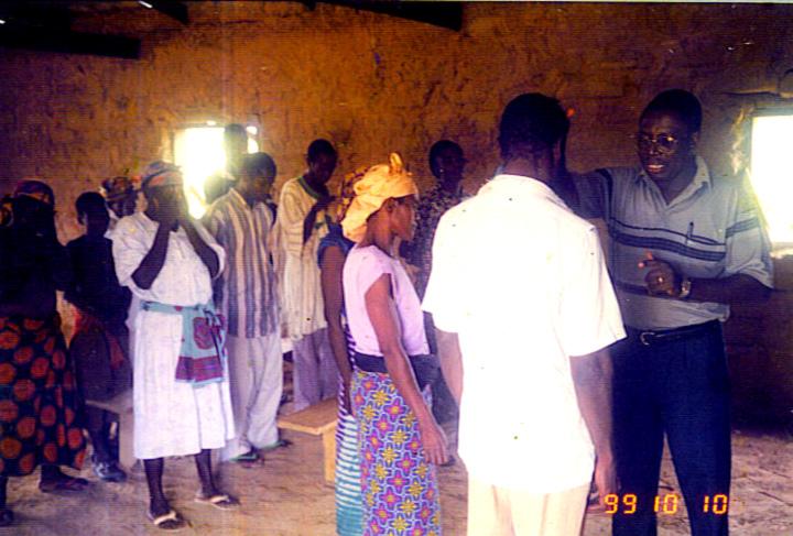Prophet visioneer Katsekpor live in ministry
