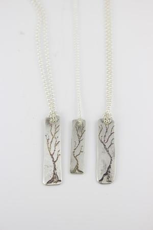 Sterling silver tree pendants felicia grace designs sterling silver tree pendants aloadofball Choice Image
