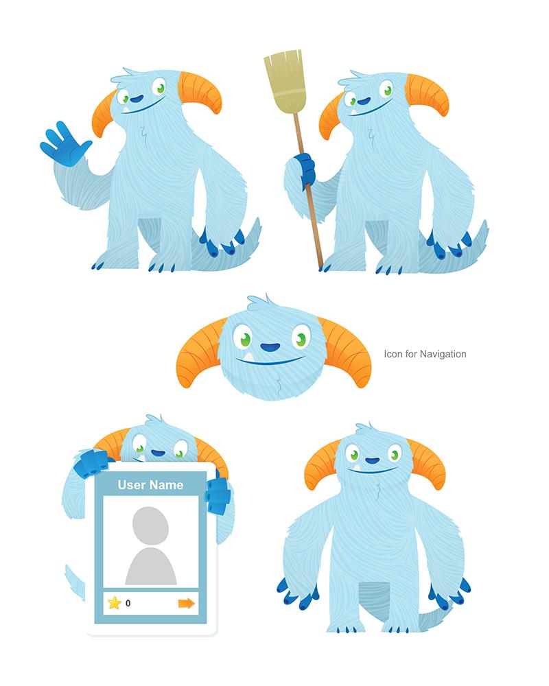 Icon Illustration App Design