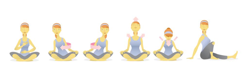 Custom Yoga Illustration