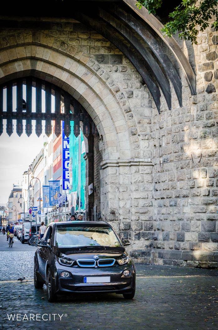 BMWi3 am Eigelsteintor