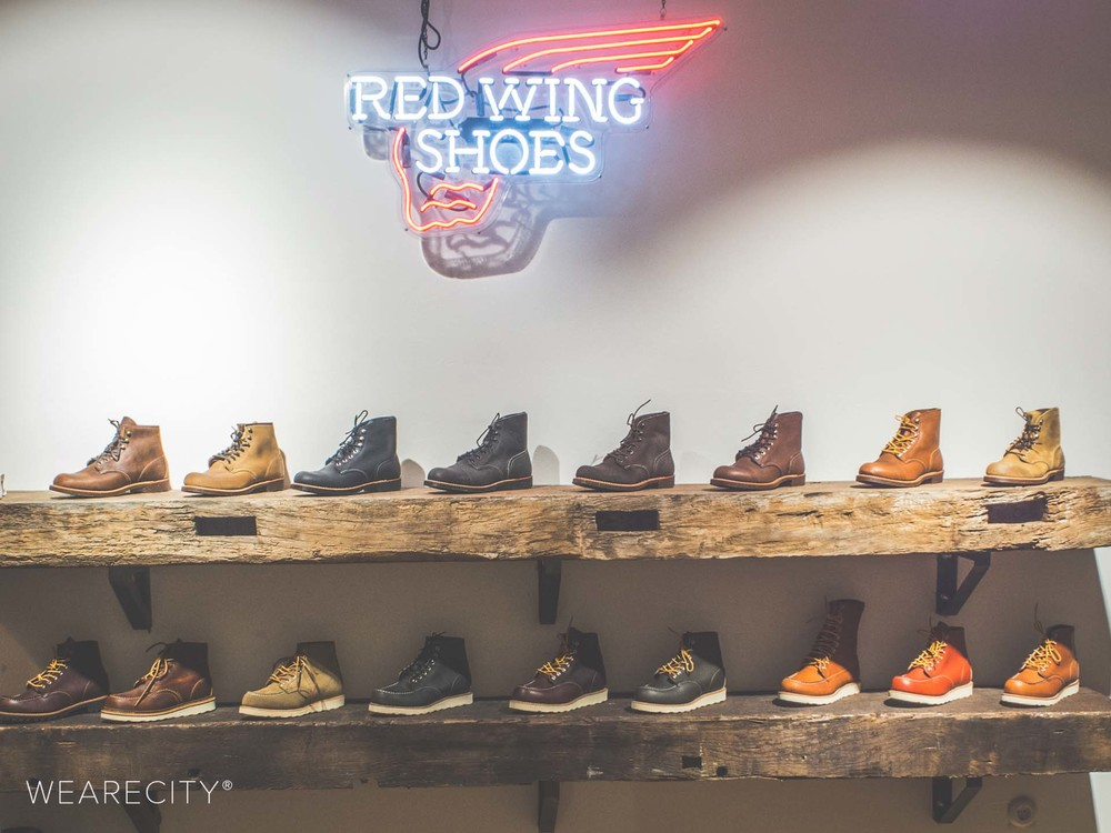 RED WING SHOES / © wearecity.de