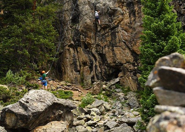 We are lucky enough to be located at the feet of a world class climbing area - Independence Pass! Our guides love to teach Rock Climbing to all levels, from kids to adults. Join us for a fun half-day or full-day on rock this summer! 970.925.6618