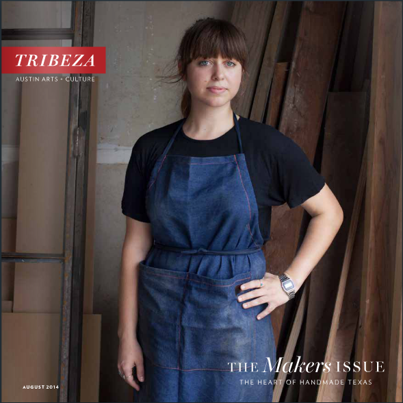 Tribeza, August 2014, Makers Issue