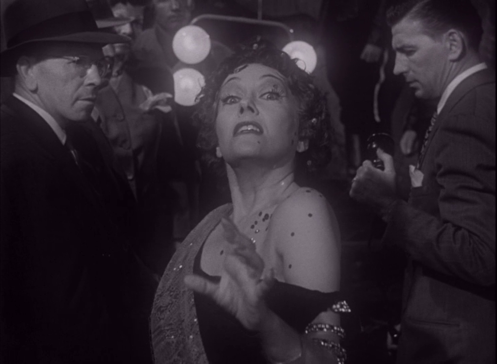 Norma Desmand, played by Gloria Swanson. Sunset Boulevard, 1950.