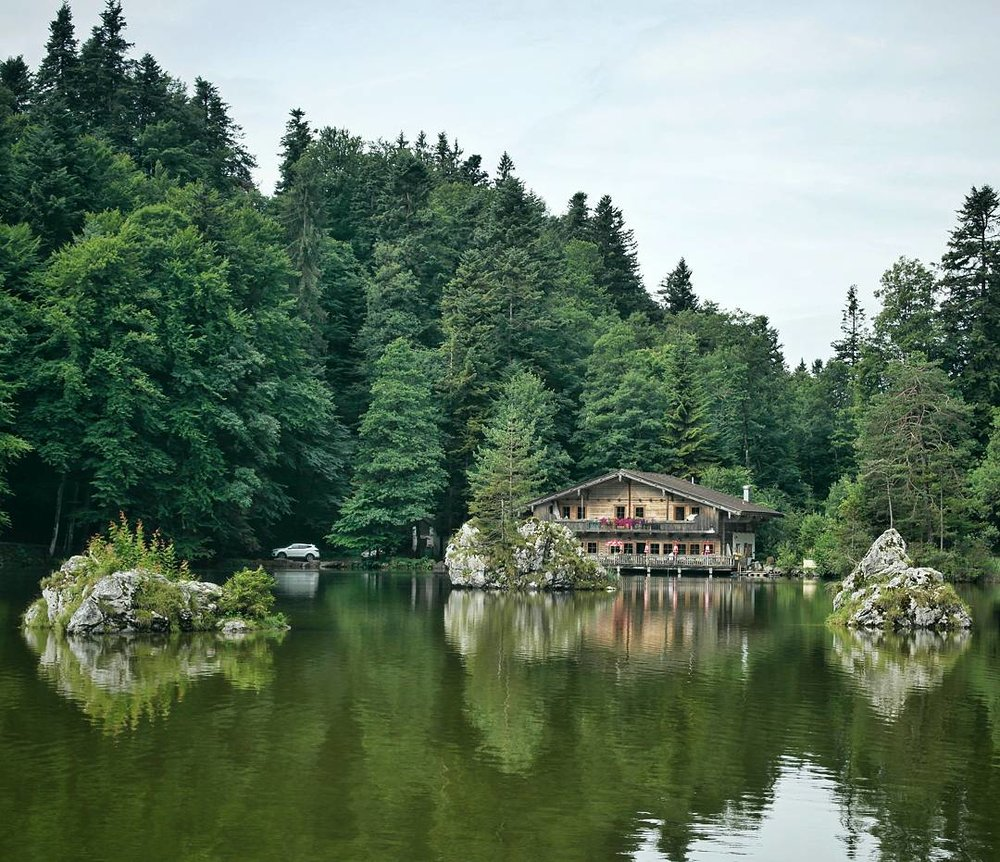 A peaceful place. A great location to walk and simply enjoy the natural surroundings.  The Berglsteiner See restaurant is well positioned at the end of the lake. It is a great location for all to enjoy, especially after a hike along the many hiking trails that are found within the area.