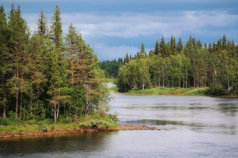 The stunning Torne river meanders its way through the wondrous Swedish landscape. Clinging close to the Swedish, Finnish border. It was incredible to follow this along our journey, with many memorable spots found along the way.