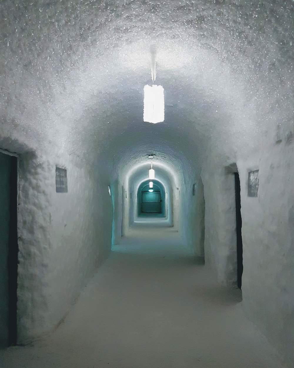 The main corridor inside the Summer Ice Hotel. Impressive and perhaps leading me into the world of the unknown.