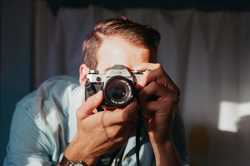 Grand Rapids Michigan Midwest Fall Film Wedding Elopement Photographer