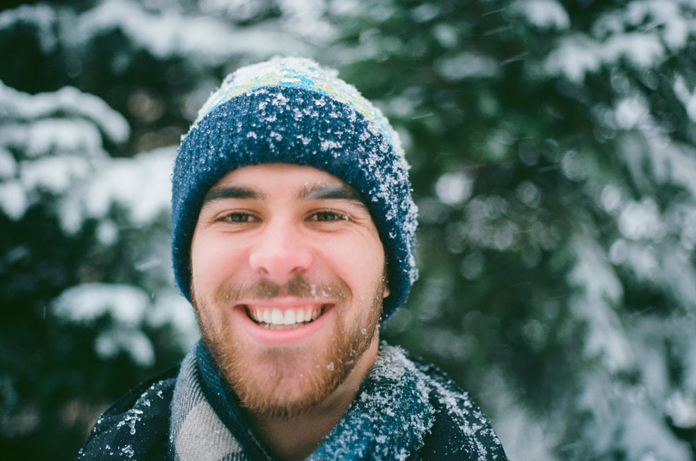 Midwest Snowy Wedding Photographer Film and Digital