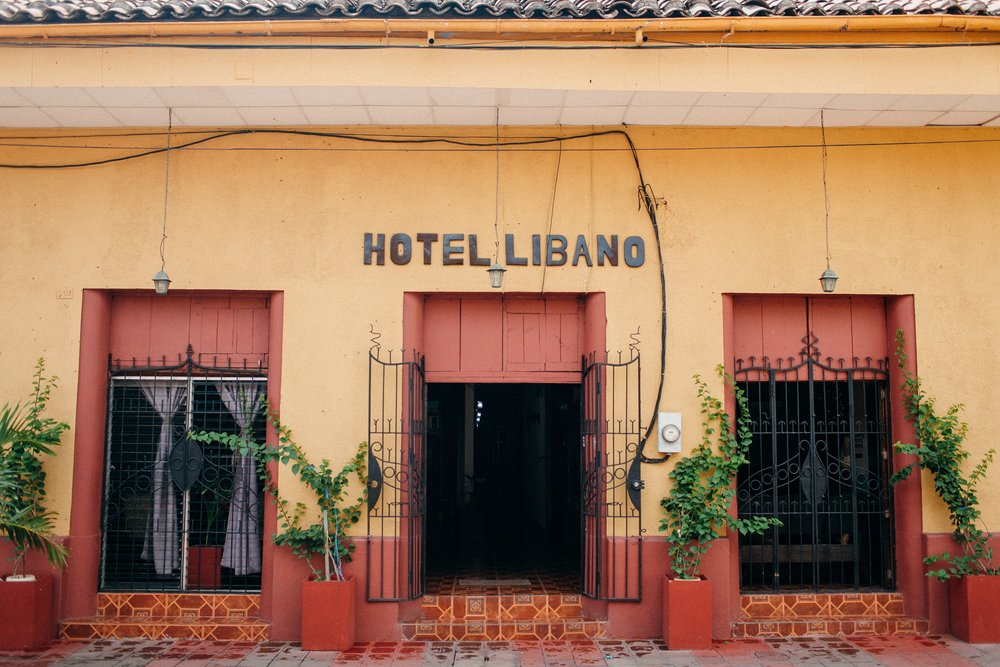 Hotel Libano in Leon, Nicaragua