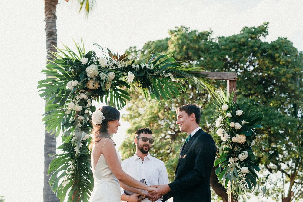 New Year's Eve Wedding on Hawai'i Island