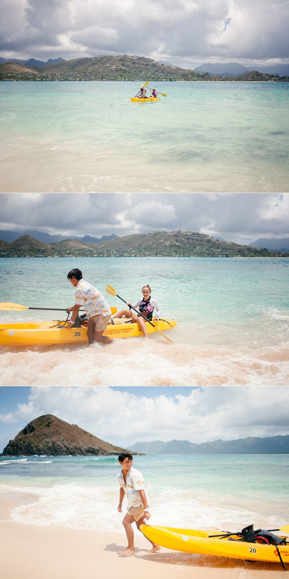 Kayaking Adventure Session to Lanikai Islands