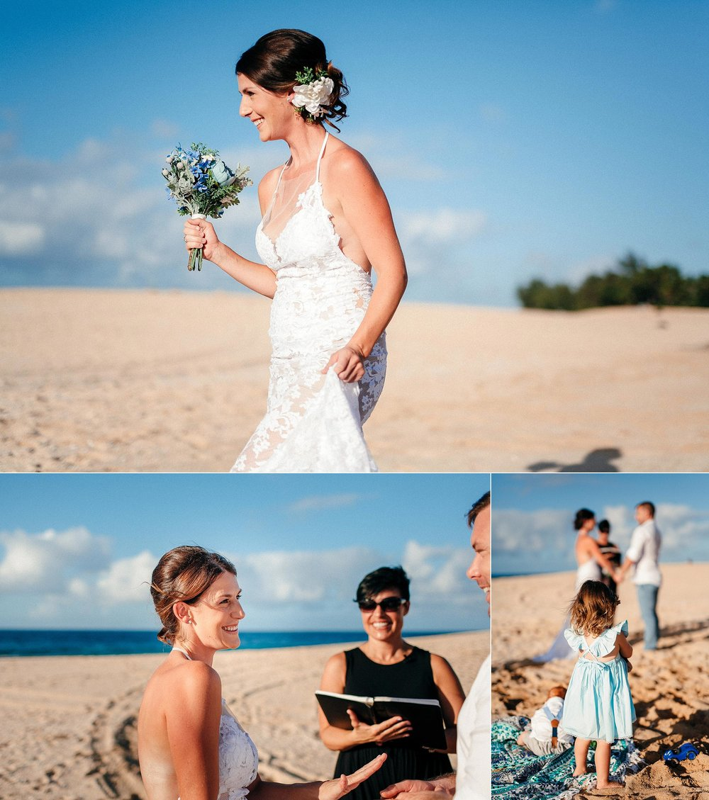 North Shore Elopement at Sunset Beach