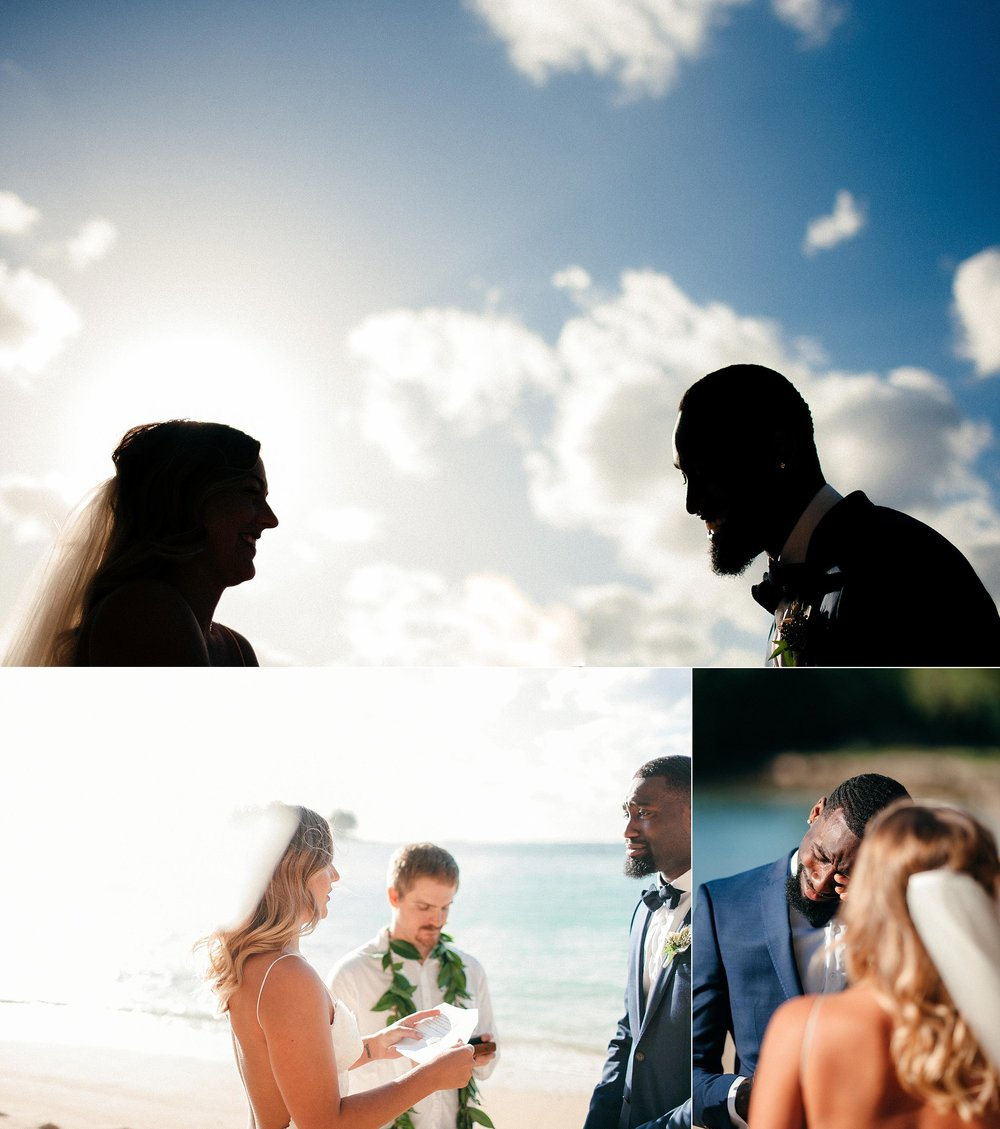 Intimate Turtle Bay Elopement from Australia