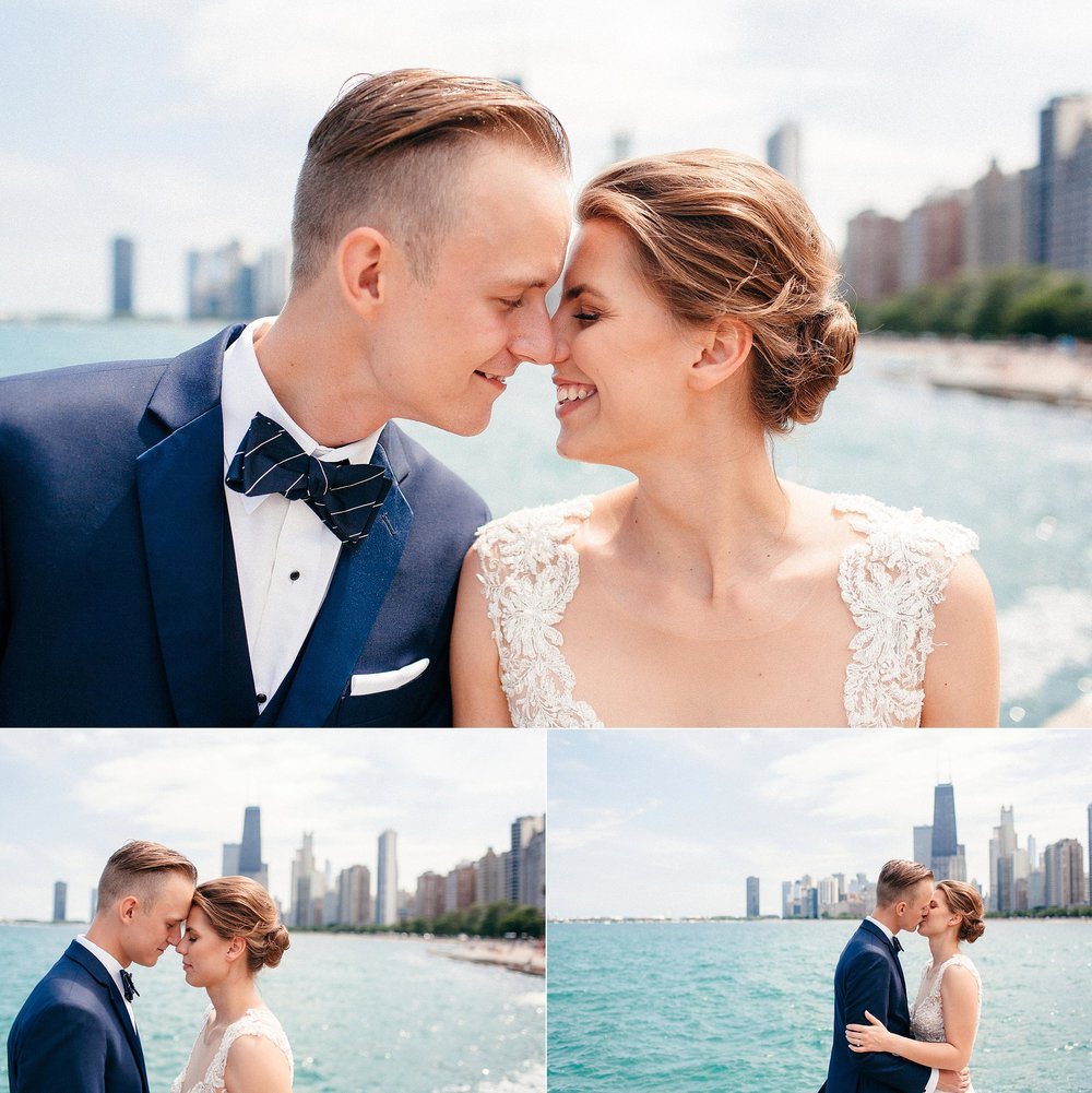 Small Downtown Chicago Floral Shop Wedding