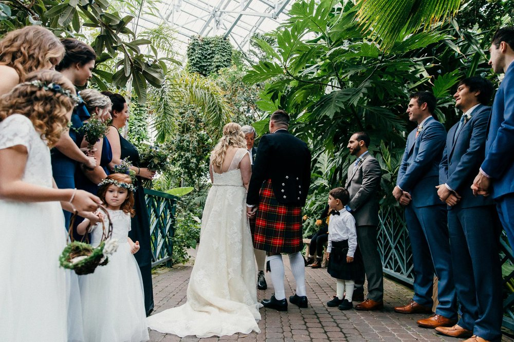 Small Botanical Garden Wedding
