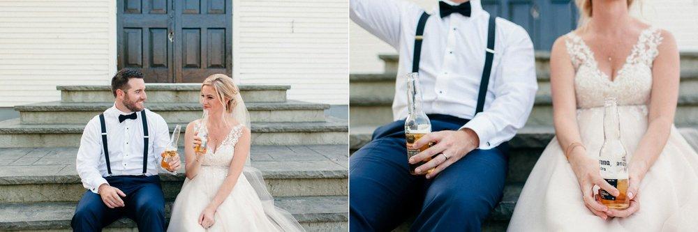 Saugatuck, Michigan Outdoor Wedding