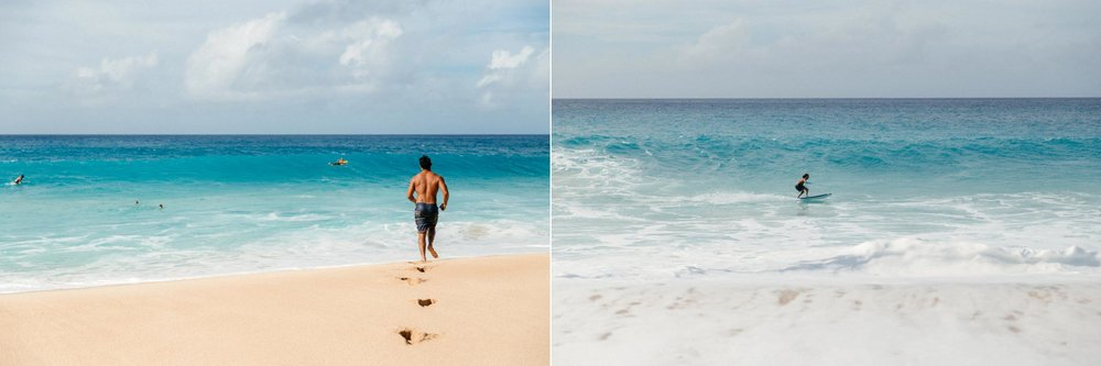 Oahu Documentary Photographs of Surfing, Hiking, Snorkeling