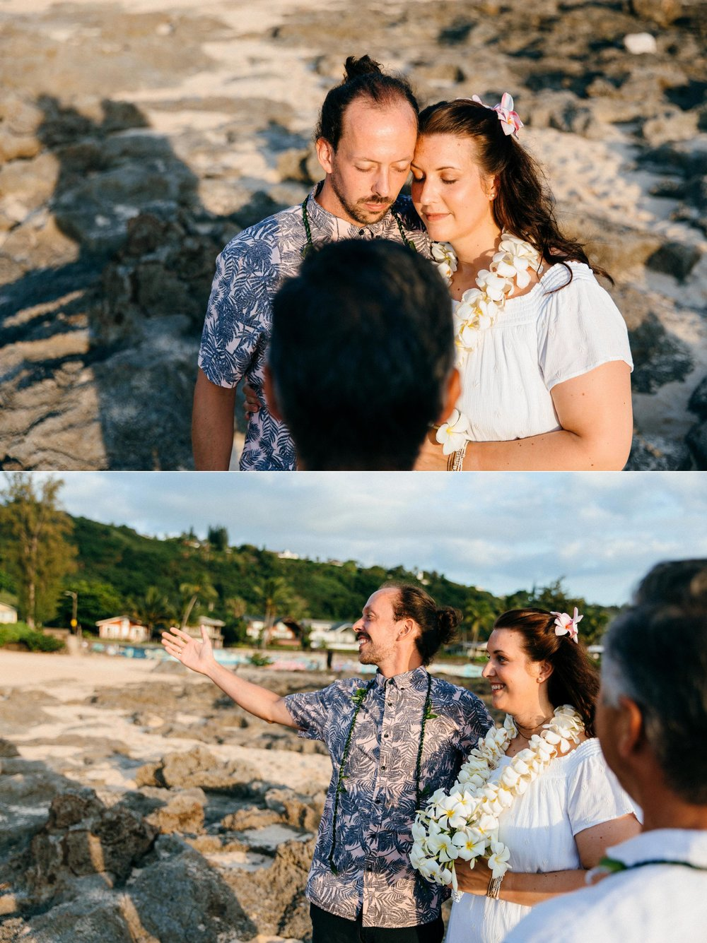 Vow Renewal near Sunset Beach
