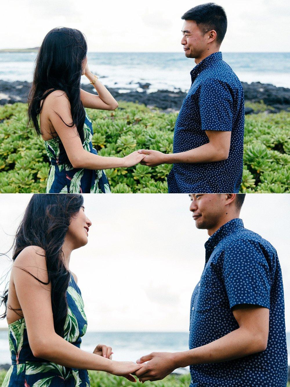 Hawaii Kai Proposal At Makapuu Lighthouse - Honolulu, Oahu Wedding Photographers