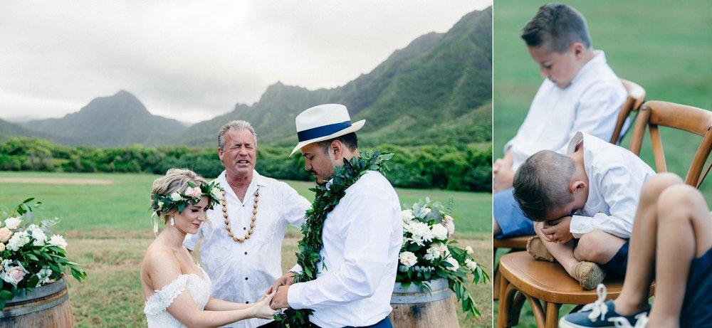Kualoa Ranch, Jurassic Park Valley Elopement - Hawaii Wedding Photography