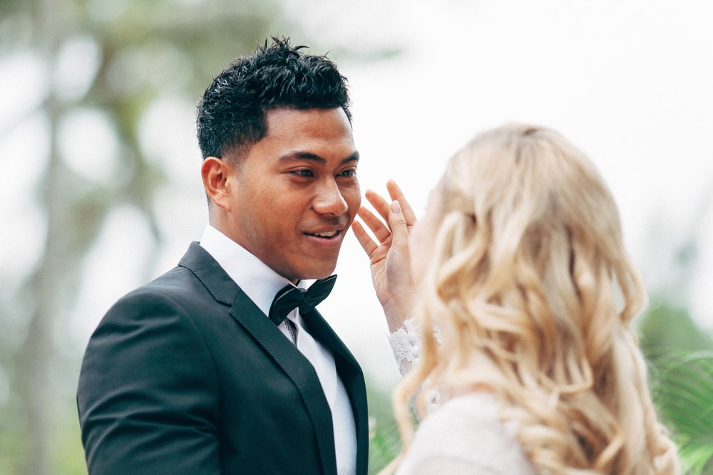 Etu when he first saw Lois on their wedding day.