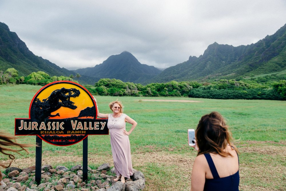 Intimate Wedding Day at Kualoa Ranch