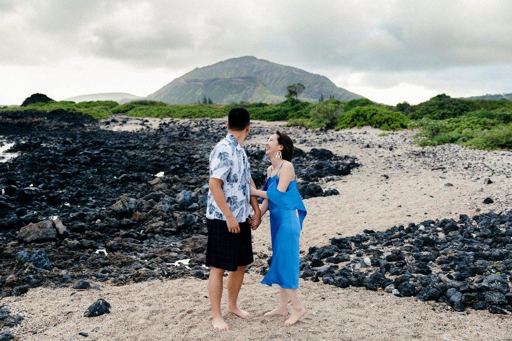 Cute Surprise Proposal on Oahu