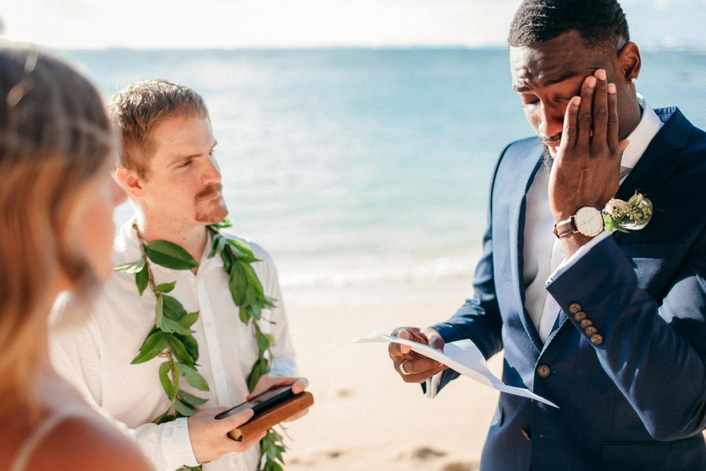 Lennie and Quentin - Are Married at Turtle Bay
