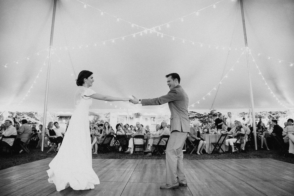 Wedding Day Dance Floor