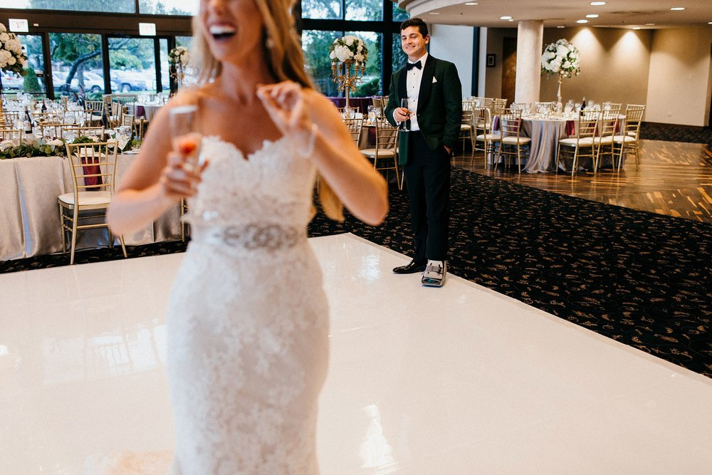Bride and Groom's Happiness at their Reception