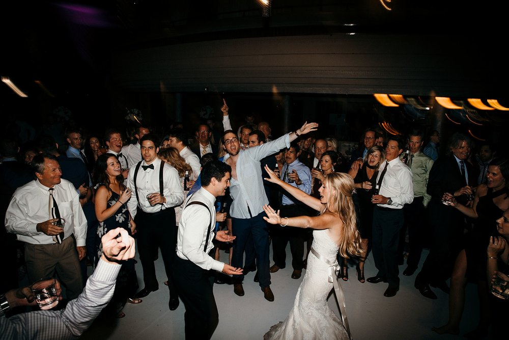 Images from the Dance Floor at Weddings